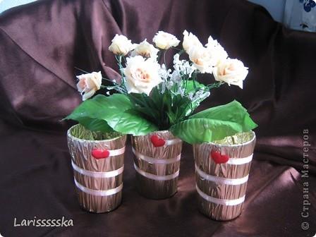 Вазочки на столы для гостей фото 1