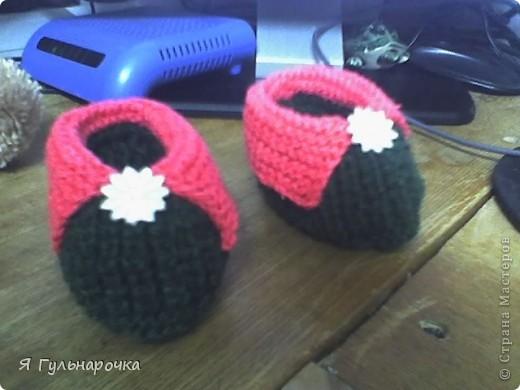 Пинетки-сандалики фото 2