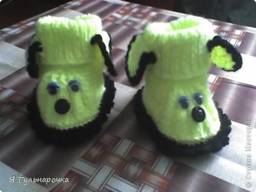 Пинетки-сандалики фото 6