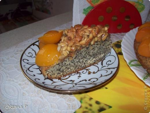 """Маковый пирог """"Подсолнух"""" фото 3"""