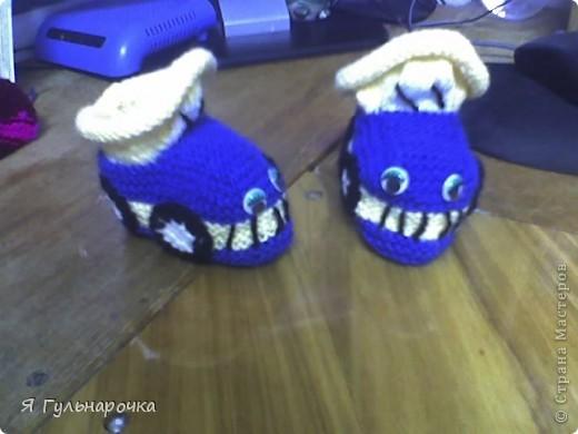 Пинетки-сандалики фото 8