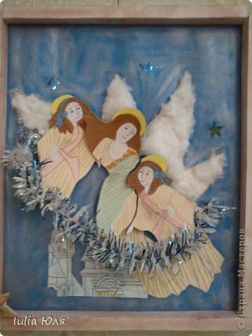 Рождественские ангелы фото 1