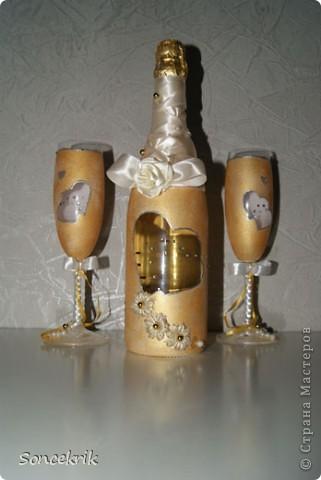 Свадебные бокалы фото 5