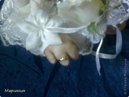 Меня попросили сделать невесту и вот что у меня получилось. Прошу прощения за качество фотографий.  фото 3