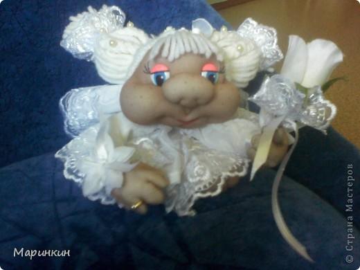Меня попросили сделать невесту и вот что у меня получилось. Прошу прощения за качество фотографий.  фото 4