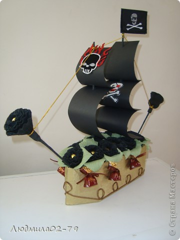 """Пиратский корабль """"Черная Жемчужина"""" фото 1"""