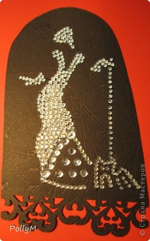 Вот такая картина получилась по мотивам картины из кристаллов Сваровски фото 2