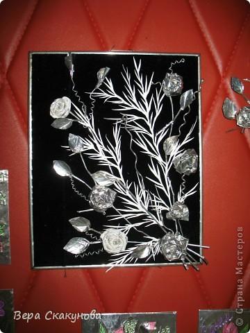 Серебряные розы