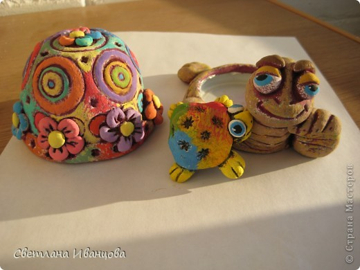 Вот такая черепашка у меня теперь живёт. Спасибо Юлии Русаковой http://stranamasterov.ru/node/55420 фото 11