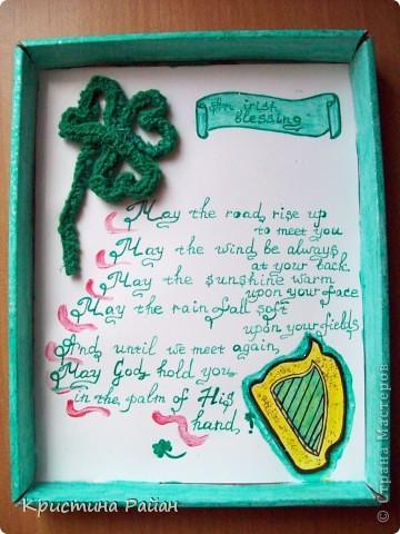 Ирландская композиция. Подарок человеку, увлекающемуся Ирландией.
