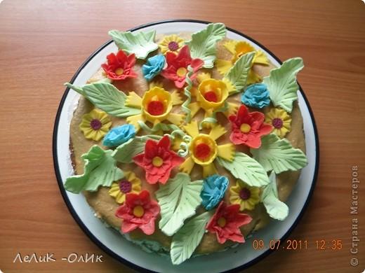 Этот торт для подруги на День рождения фото 1