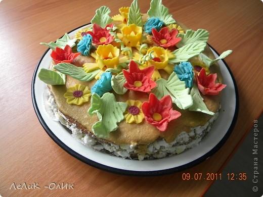 Этот торт для подруги на День рождения фото 4