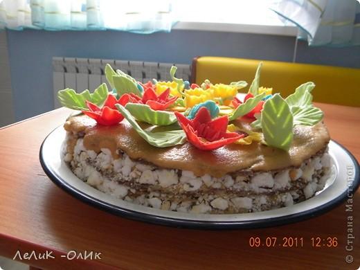 Этот торт для подруги на День рождения фото 3