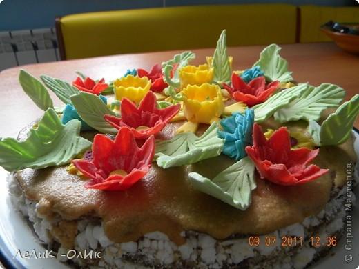 Этот торт для подруги на День рождения фото 2