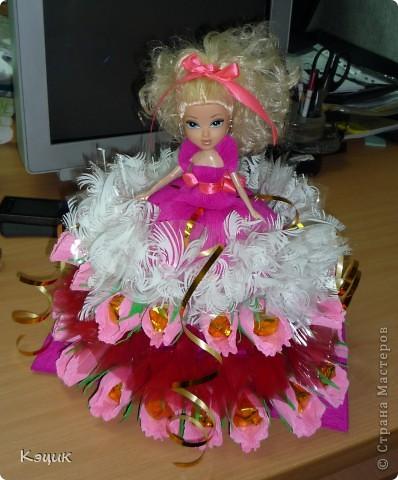 "Свит-букет ""Кукла"" фото 2"