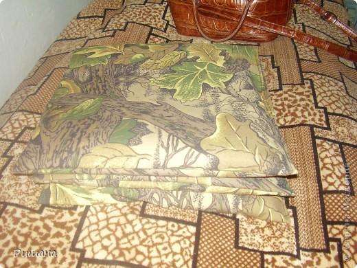 Вот такие подушки на лавку у меня получились фото 6