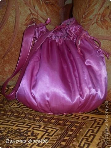 Вот так я сделала себе эксклюзивную сумочку))) фото 2
