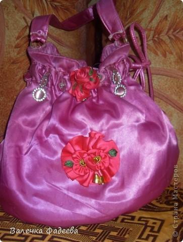 Вот так я сделала себе эксклюзивную сумочку))) фото 1