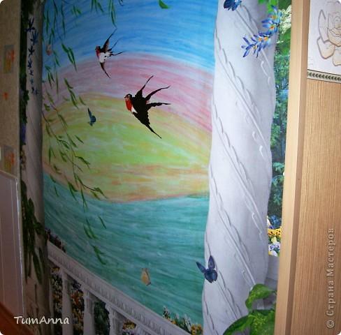 Весенний ветерок (Настенная живопись) фото 3