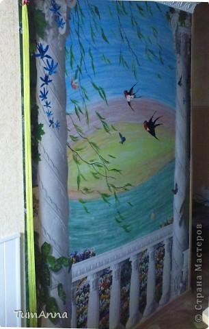 Весенний ветерок (Настенная живопись) фото 4