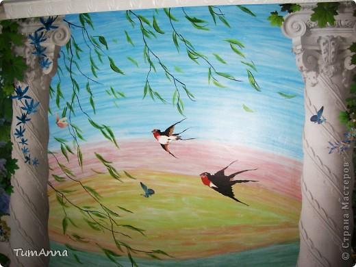 Весенний ветерок (Настенная живопись) фото 1