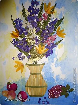 Июнь. Прессованные цветы или Осибана фото 2