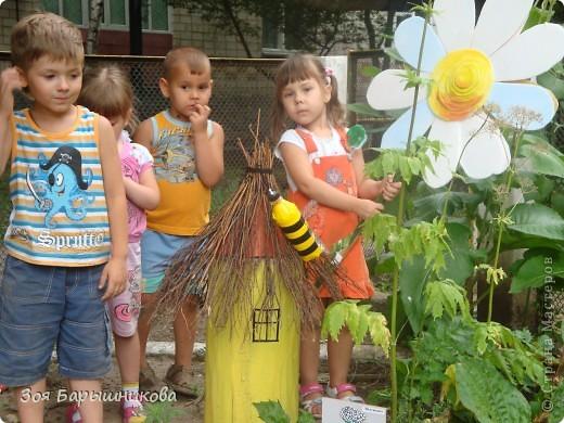 Украшаем участки детского сада фото 1