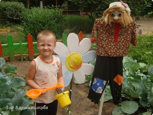 Украшаем участки детского сада фото 6