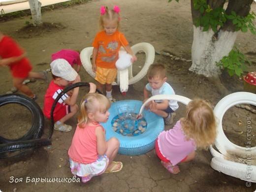 Украшаем участки детского сада фото 8