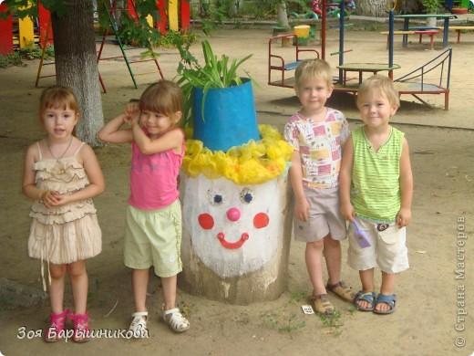 Украшаем участки детского сада фото 18