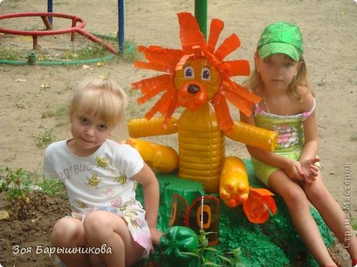 Украшаем участки детского сада фото 15