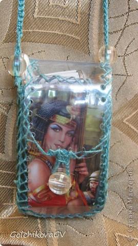 Чехол для телефона, сделанный из пластиковой бутылки - легкий и удобный. фото 20