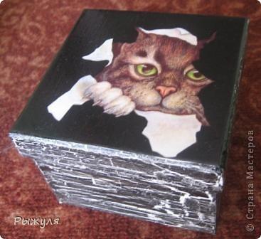 Шкатулочки из Икеи картонные фото 2