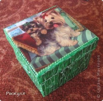 Шкатулочки из Икеи картонные фото 4