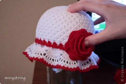Гардероб Вязание крючком Панамка+шляпка для девочки Пряжа фото 1