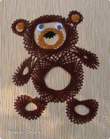 Три медведя вышиты по одному шаблону. фото 3