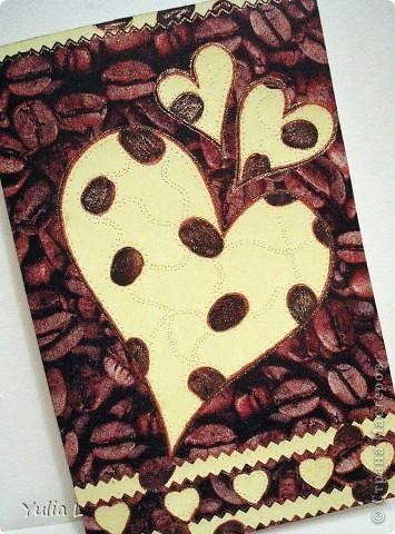 """Небольшая коллекция """"сердечных"""" открыток. Впервые попробовала технику вырезания. Шаблоны здесь http://stranamasterov.ru/node/44264. Бабочки вырезаны из скрап-бумаги, фон - двусторонний картон. фото 3"""