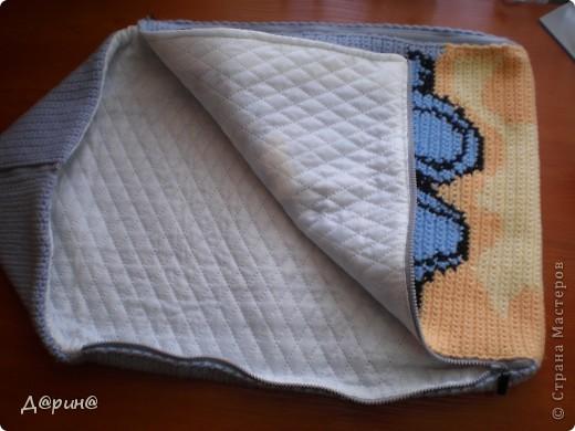Вязание конверта для новорожденного