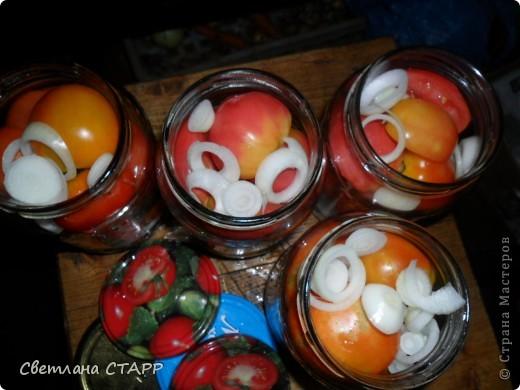 Сегодня делала помидорки. фото 5