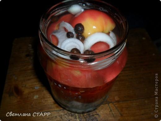Сегодня делала помидорки. фото 6