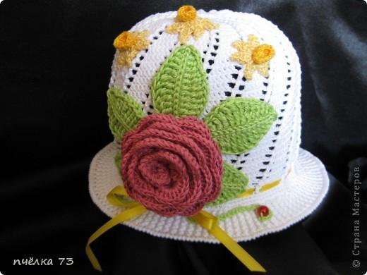 Моя долгожданная шапочка для дочки (спасибо Галине с Осинки) фото 1