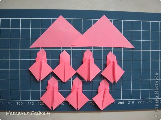 Кусочек лета своими руками.Кустик неувядающих цветов у себя дома. Как давно я мечтала сделать космеи - оригами.Ура они теперь со мной рядом. фото 8