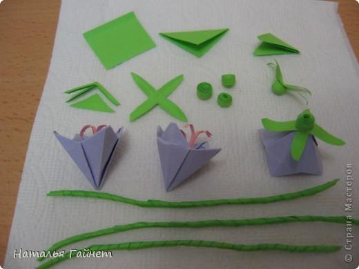 Кусочек лета своими руками.Кустик неувядающих цветов у себя дома. Как давно я мечтала сделать космеи - оригами.Ура они теперь со мной рядом. фото 15