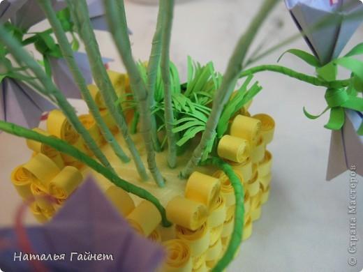 Кусочек лета своими руками.Кустик неувядающих цветов у себя дома. Как давно я мечтала сделать космеи - оригами.Ура они теперь со мной рядом. фото 25