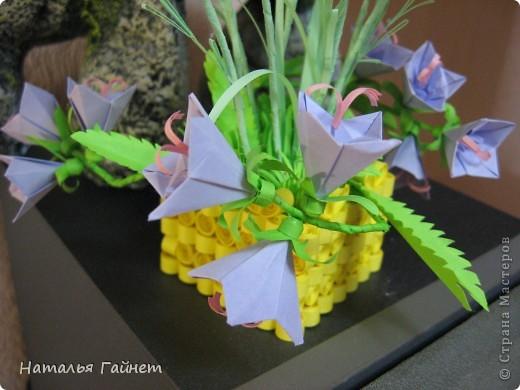 Кусочек лета своими руками.Кустик неувядающих цветов у себя дома. Как давно я мечтала сделать космеи - оригами.Ура они теперь со мной рядом. фото 14
