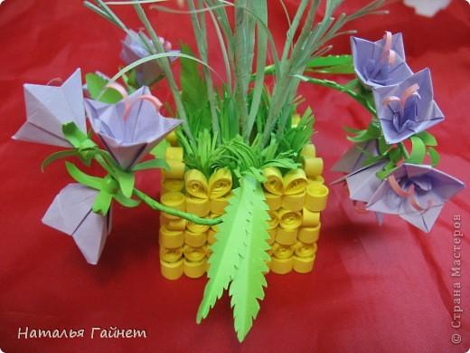 Кусочек лета своими руками.Кустик неувядающих цветов у себя дома. Как давно я мечтала сделать космеи - оригами.Ура они теперь со мной рядом. фото 12