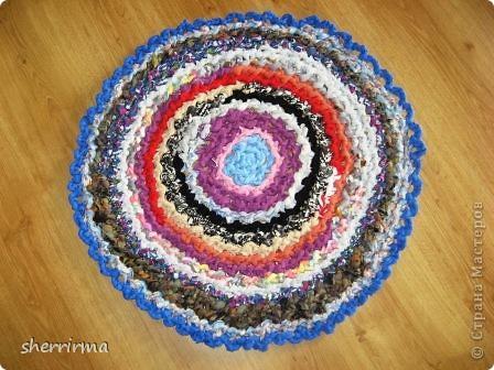 Диаметр коврика 66 см. фото 5