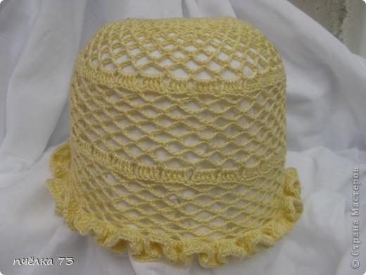 Моя долгожданная шапочка для дочки (спасибо Галине с Осинки) фото 3