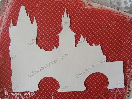 Это коробочка, в которой любимый получил свой подарок :) Украшения - атласные ленты и квиллинговый цветочек. фото 9