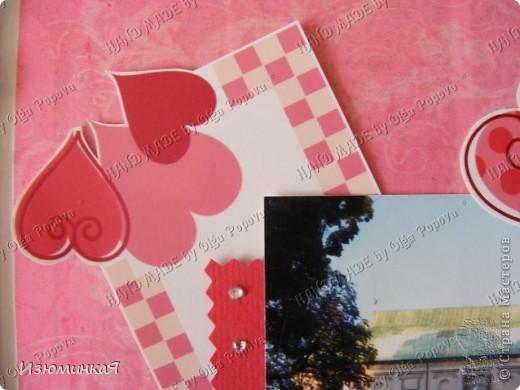 Это коробочка, в которой любимый получил свой подарок :) Украшения - атласные ленты и квиллинговый цветочек. фото 22